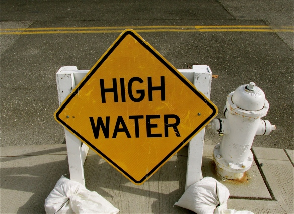 high water warning