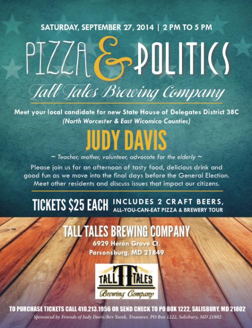 Judy Davis fundraiser
