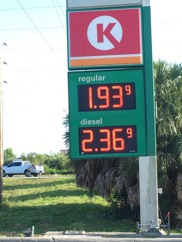 fl gas price